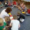 Króliczki w bibliotece- Bezpieczne Wakacje