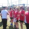 Turniej piłki koszykowej gimnazjalistów w Szymanach
