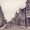 Wielbark, ulica Kościelna.
