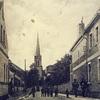 Ulica Ogrodowa. Kościół katolicki pw. św. Jana Nepomucena.
