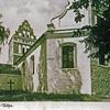 Zabytkowy gotycki kościół ewangelicko - augsburski.