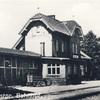 Dawny dworzec kolejowy.