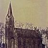 Dźwierzuty. Zabytkowy kościół katolicki Przenajświętrzej Trójcy.