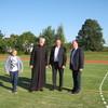 Otwarcie boiska wielofunkcyjnego w Wawrochach