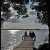 Odpoczynek nad Jeziorem Leleskim