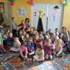 Czytanie bajek w Oddziale Przedszkolnym Gminnego Przedszkola w Nowinach przy ulicy Łomżyńskiej
