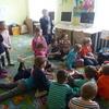 Bóbr Gminek z wizytą w Bibliotekach Publicznych Gminy Szczytno