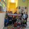 Bóbr Gminek z wizytą w Zespole Szkół w Olszynach