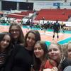 Mecz piłki siatkowej w Olsztynie