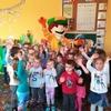 Spotkanie Trampolinka z dziećmi Gminnego Przedszkola w Nowinach
