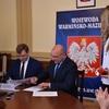 """Podpisanie umowy na na przebudowę dróg lokalnych z """"Programu rozwoju gminnej i powiatowej infrastruktury drogowej na lata 2016-"""