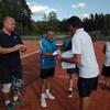 Turniej Tenisa Ziemnego o Puchar Wójta Gminy Szczytno –  zacięte pojedynki deblistów