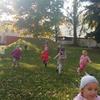 Jesienne zabawy w ogrodzie