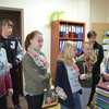 Wychowankowie Specjalnego Ośrodka Szkolno – Wychowawczego z wizytą w Starostwie Powiatowym w Szczytnie.