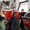 Szkolne Koło PCK z wizytą w Straży Pożarnej - Galeria zdjęć