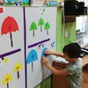 Trójkątne parasole