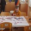 Uczymy się - alfabet ruchomy Montessori